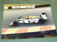 "WILLIAMS FW11 Turbo Nelson Piquet.original period 12x16"" photo British GP 1986"